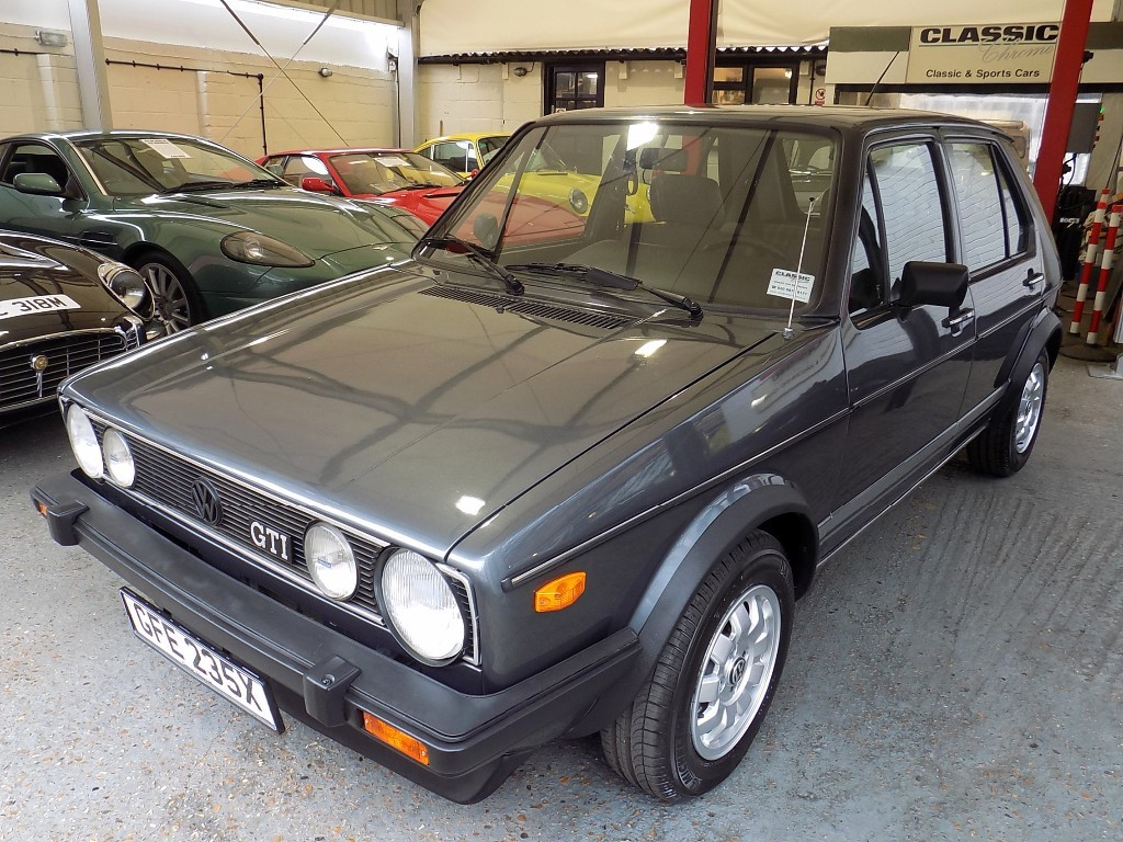 Volkswagen Golf 1982 model
